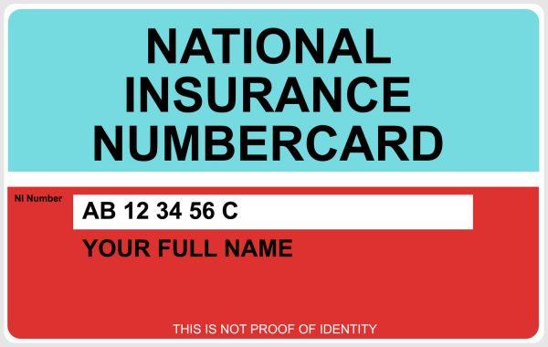 Nation Insurance Number