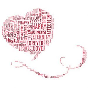 Trailing Heart WordArt