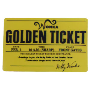 Will Wonka Golden Ticket
