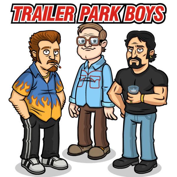 Trailer Park Boys with Logo